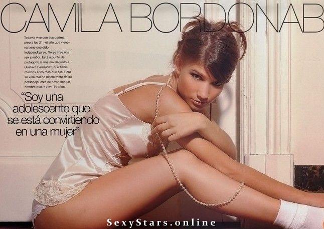 Камила Бордонаба голая. Фото - 1