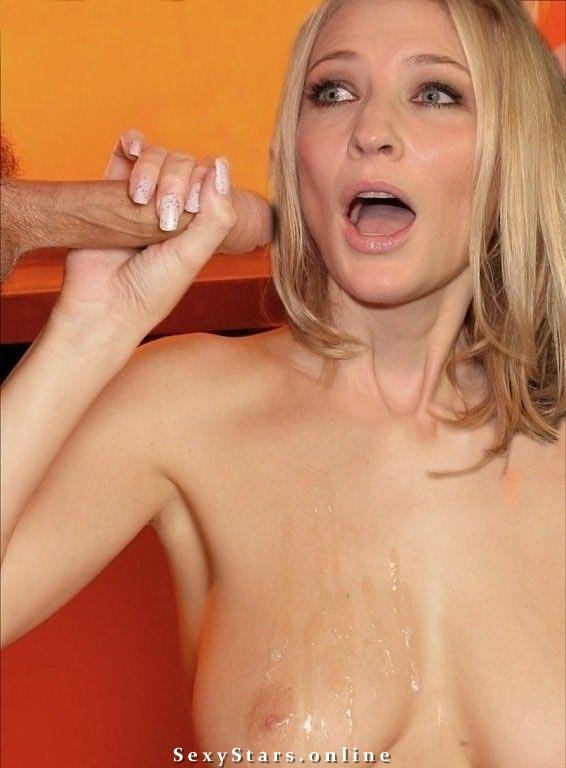 Кейт Бланшетт голая. Фото - 1