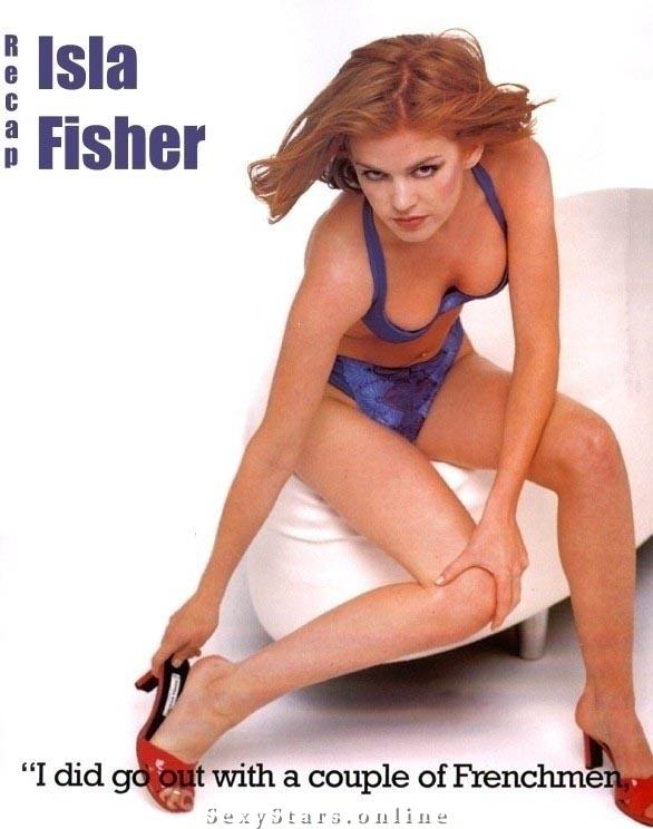 Isla Fisher Nackt. Fotografie - 13