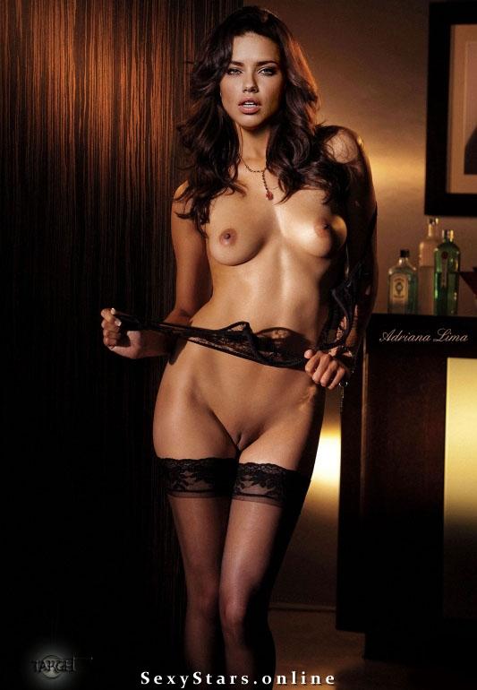 Адриана Лима голая. Фото - 121