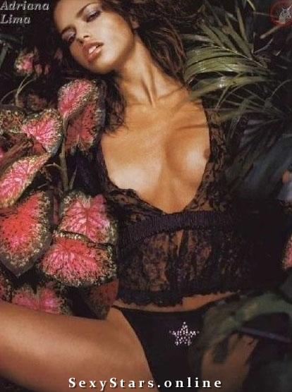 Адриана Лима голая. Фото - 18