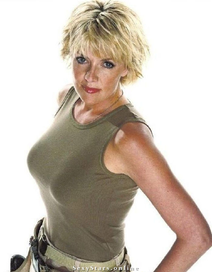 Amanda Tapping nude. Photo - 15