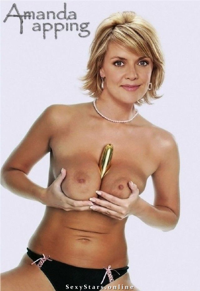 Amanda Tapping nude. Photo - 9