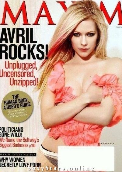 Аврил Лавин голая. Фото - 5