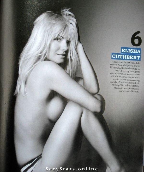Элиша Катберт голая. Фото - 4