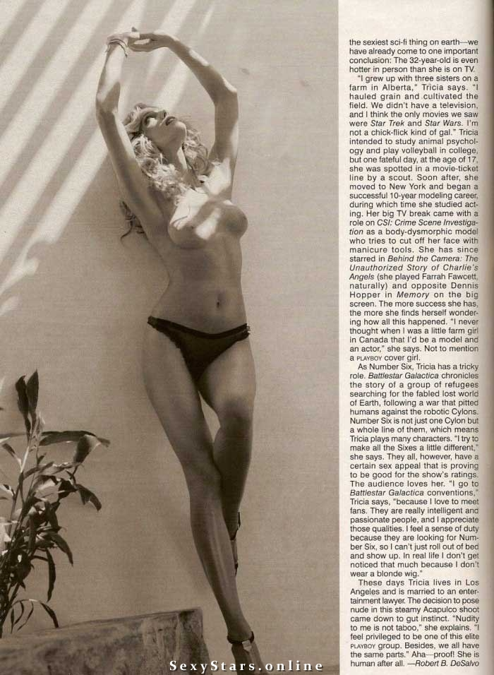 Триша Хелфер голая. Фото - 2