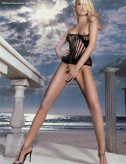 Адриана Скленарикова голая. Фото - 1