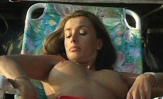Алиса Бендова nahá. Fotka - 3