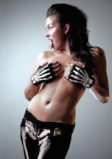 Анета Галисова голая. Фото - 1