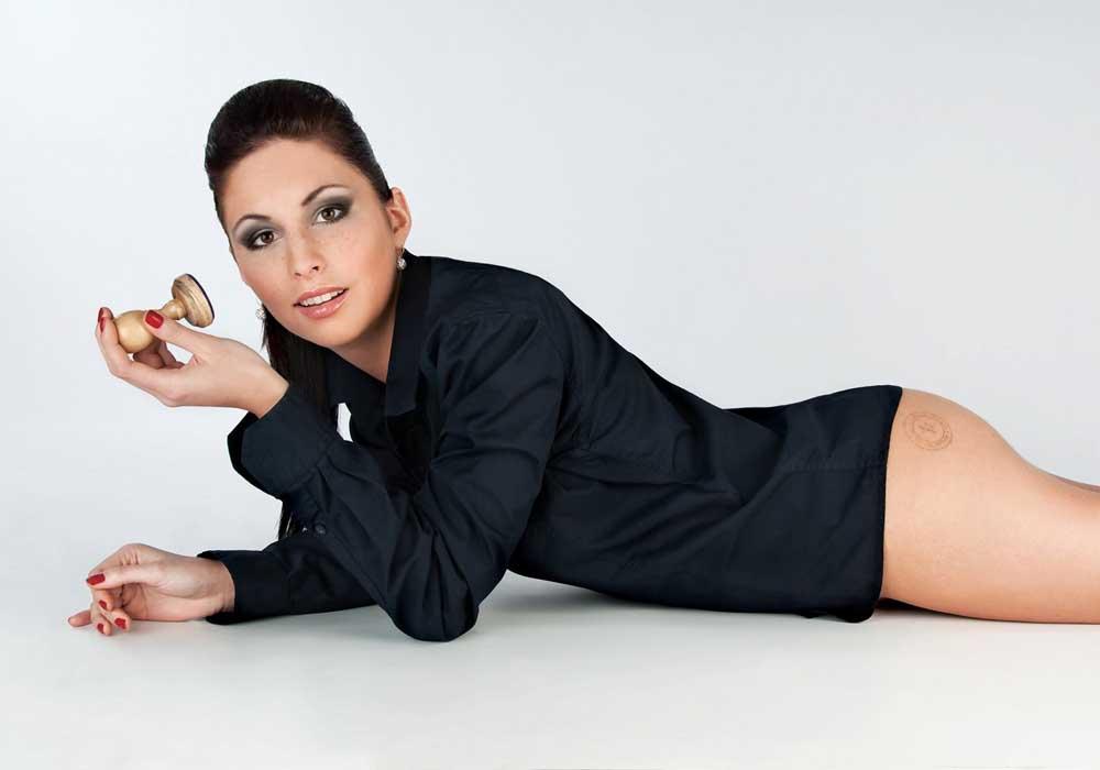 Дениса Ержабкова голая. Фото - 5
