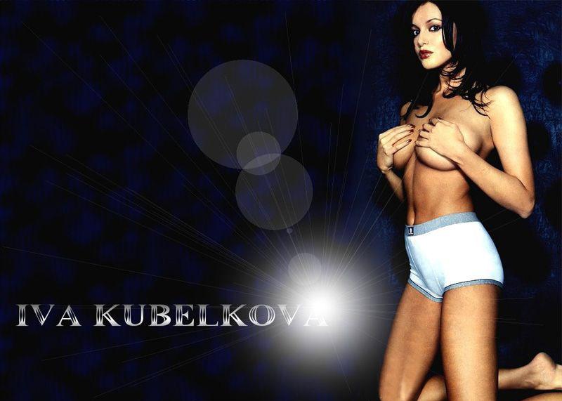 Ива Кубелкова nahá. Fotka - 7
