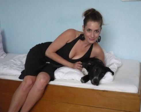 Ленка Заградницка голая. Фото - 8