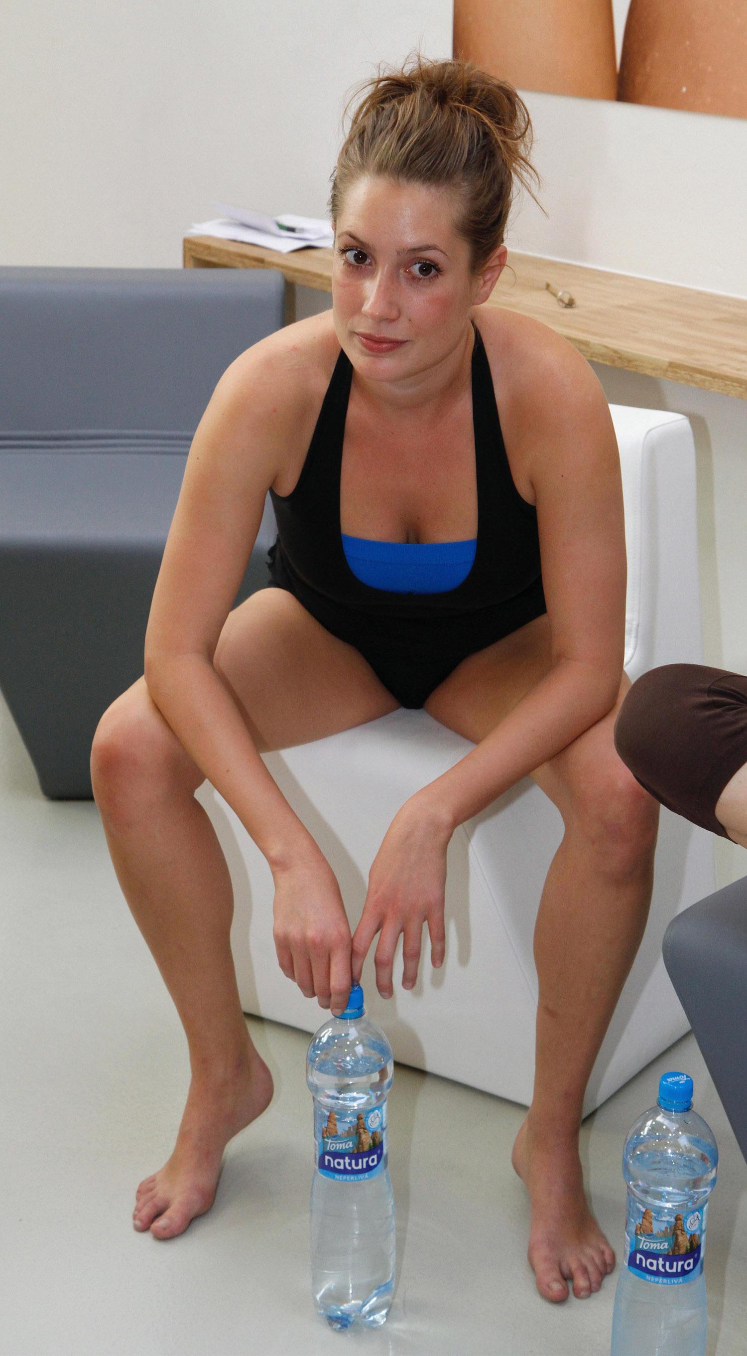 Ленка Заградницка голая. Фото - 9