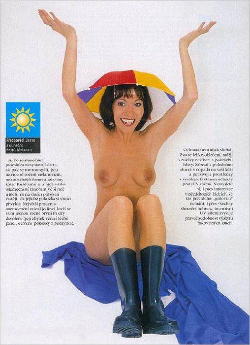 Михаэла Долинова голая. Фото - 15