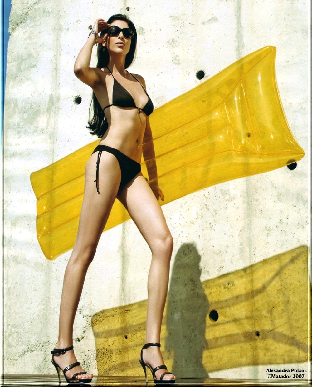 Александра Польцин голая. Фото - 6