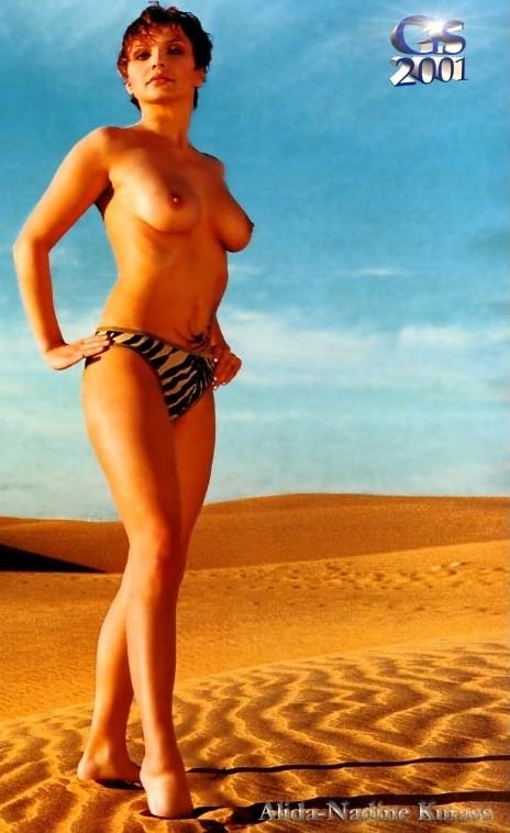 Алида Куррас голая. Фото - 4