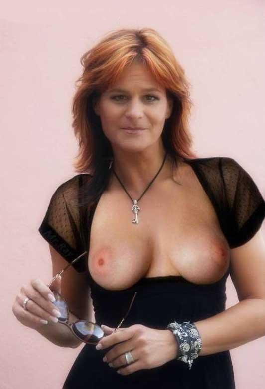 Андреа Берг голая. Фото - 4