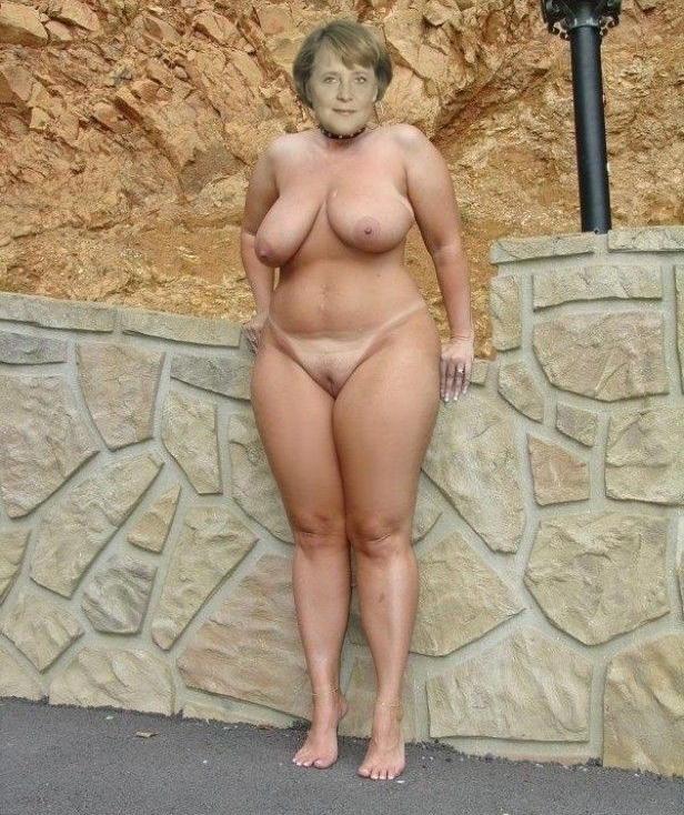 Ангела Меркель голая. Фото - 10