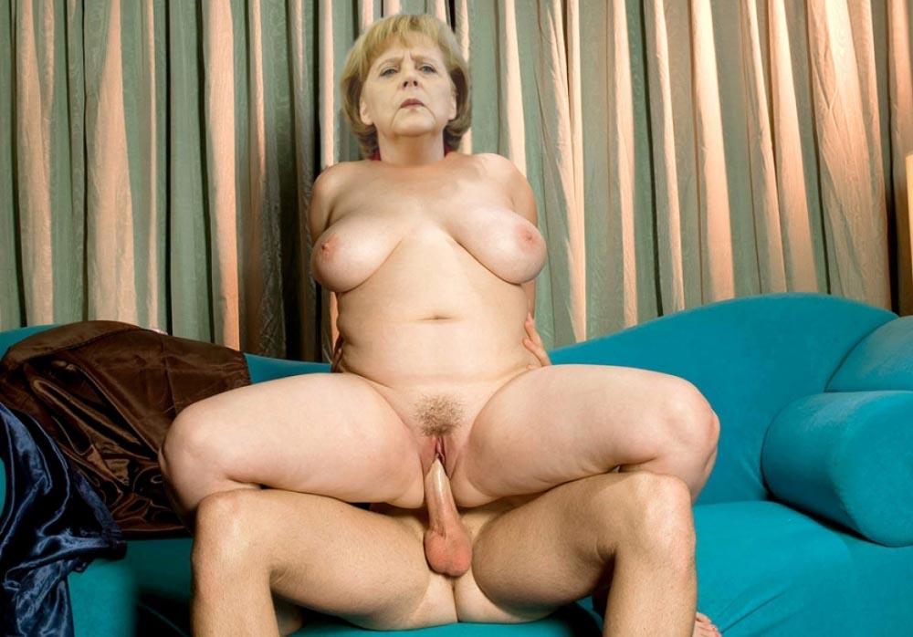 Ангела Меркель голая. Фото - 103