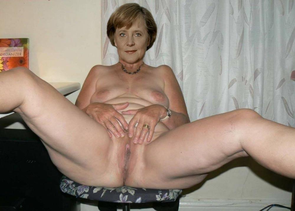 Ангела Меркель голая. Фото - 110