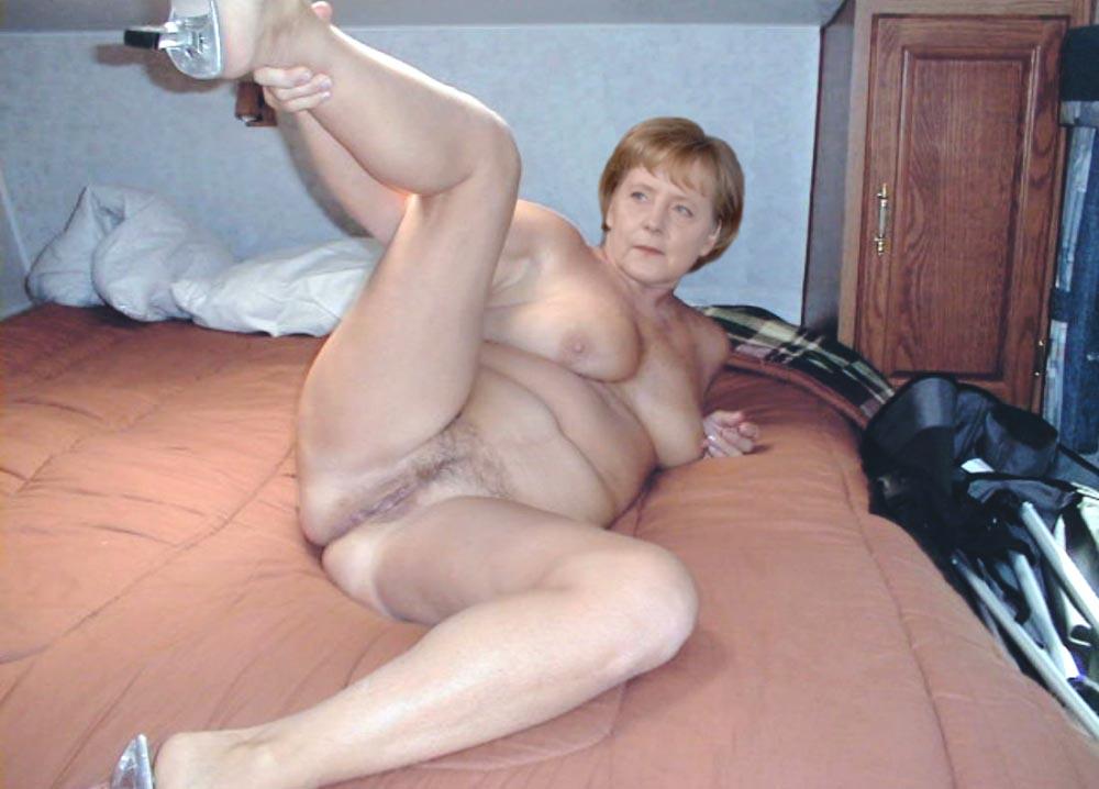 Ангела Меркель голая. Фото - 112
