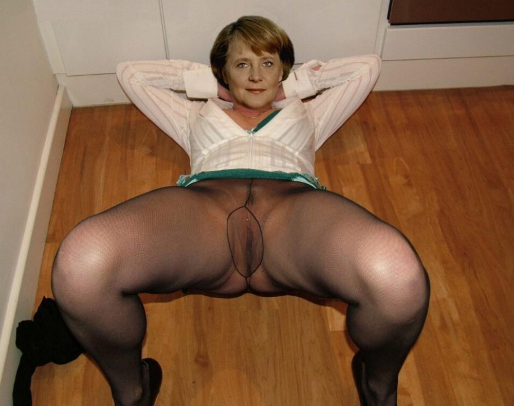 Ангела Меркель голая. Фото - 115