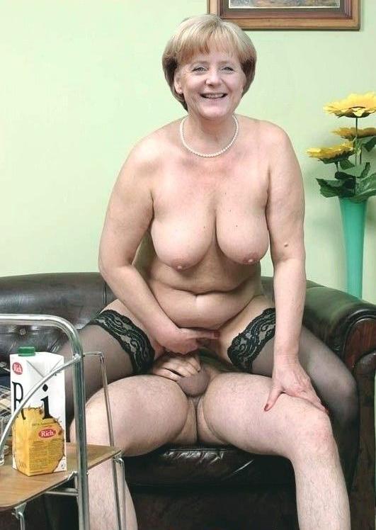 Ангела Меркель голая. Фото - 14