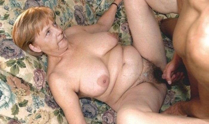 Ангела Меркель голая. Фото - 15