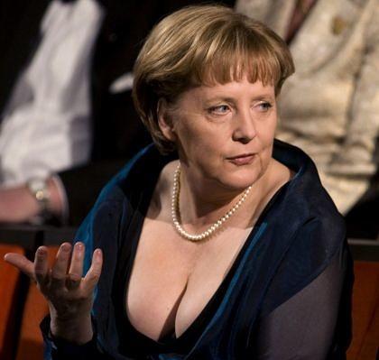 Ангела Меркель голая. Фото - 25