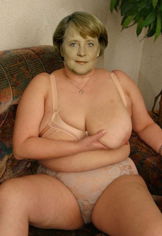 Ангела Меркель голая. Фото - 28
