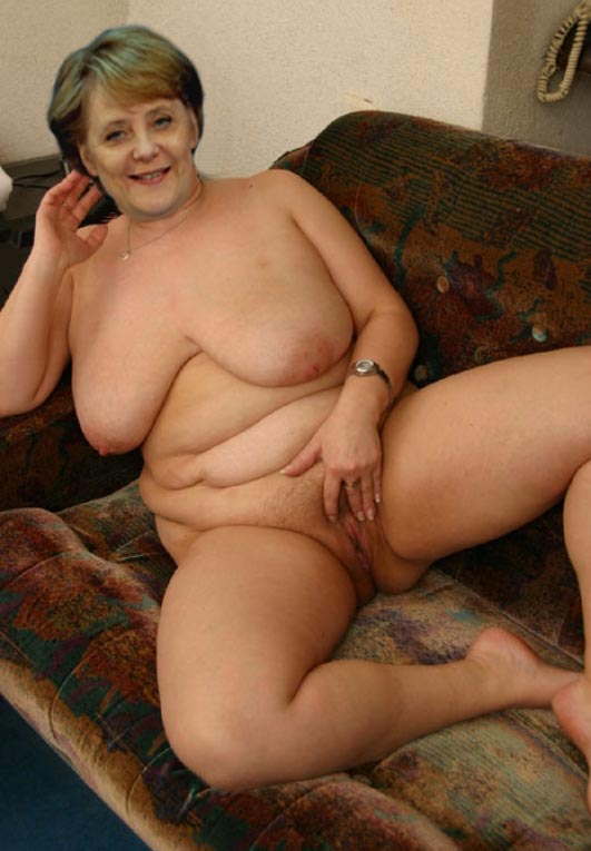 Ангела Меркель голая. Фото - 29