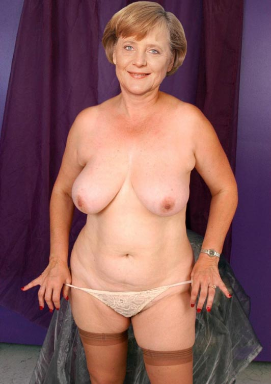 Ангела Меркель голая. Фото - 33