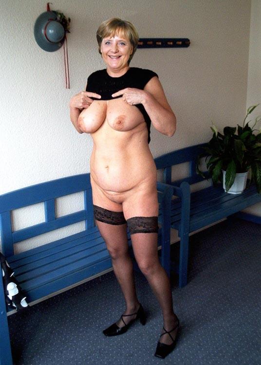 Ангела Меркель голая. Фото - 34