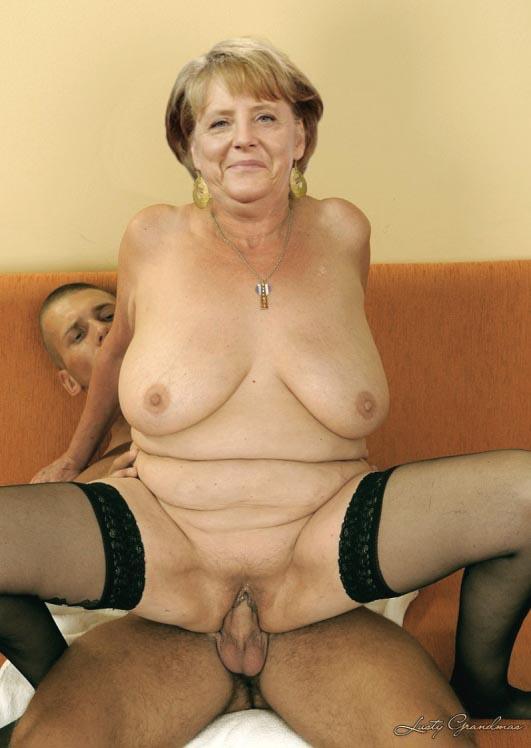Ангела Меркель голая. Фото - 35