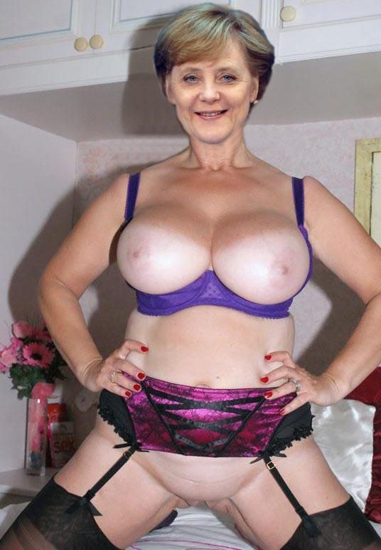 Ангела Меркель голая. Фото - 36