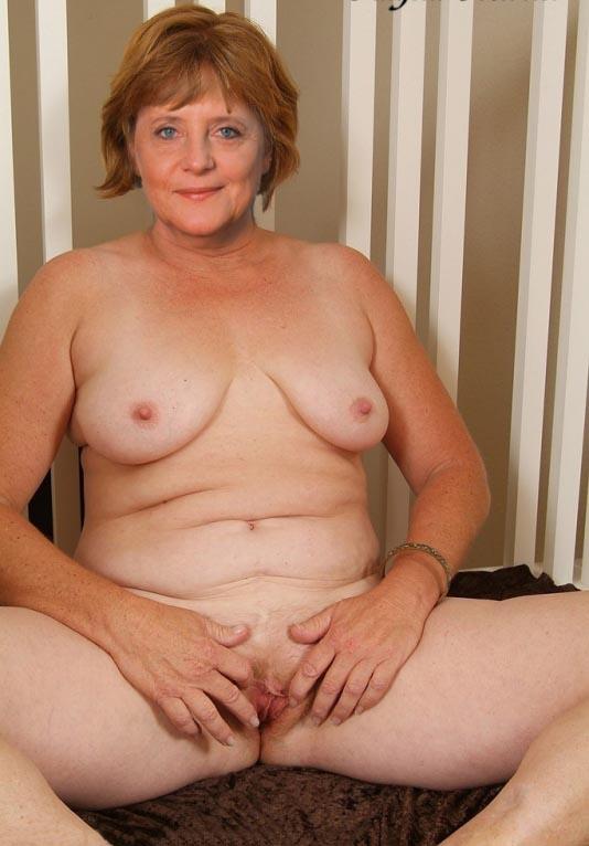 Ангела Меркель голая. Фото - 37