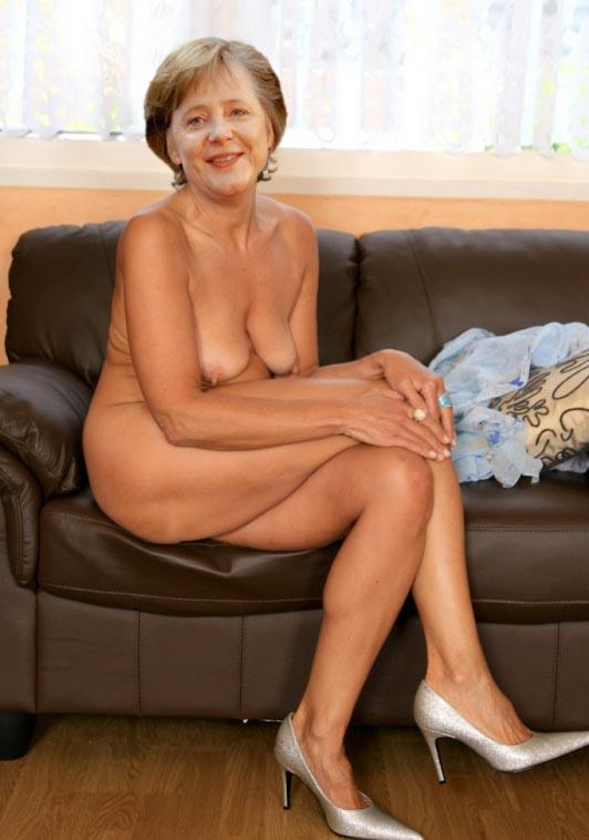 Ангела Меркель голая. Фото - 40