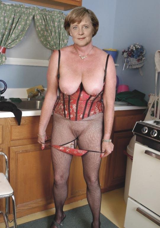 Ангела Меркель голая. Фото - 42
