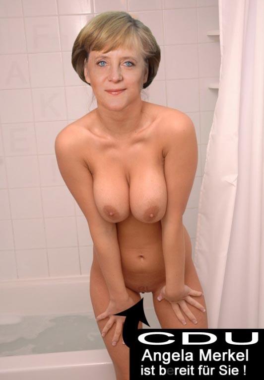 Ангела Меркель голая. Фото - 44