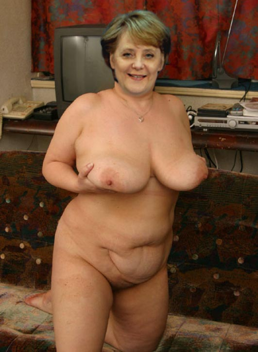 Ангела Меркель голая. Фото - 45
