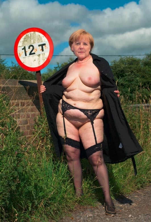 Ангела Меркель голая. Фото - 46