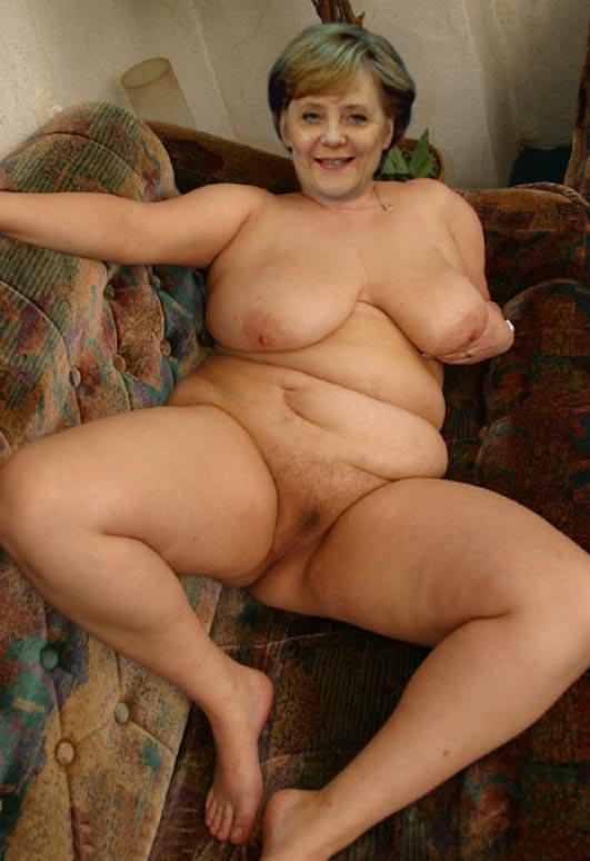 Ангела Меркель голая. Фото - 47