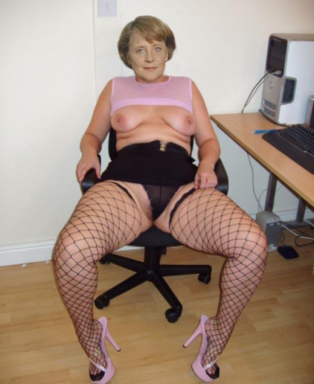 Ангела Меркель голая. Фото - 51