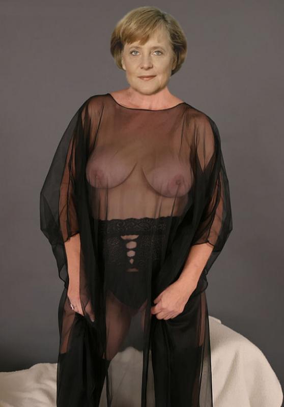 Ангела Меркель голая. Фото - 54