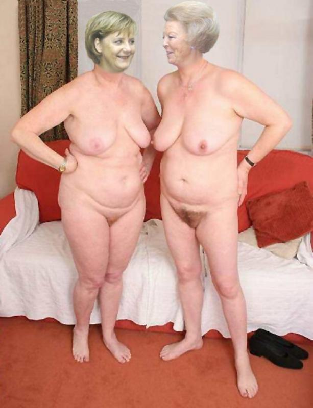 Ангела Меркель голая. Фото - 56