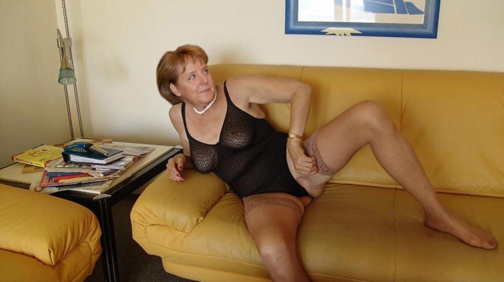 Ангела Меркель голая. Фото - 57