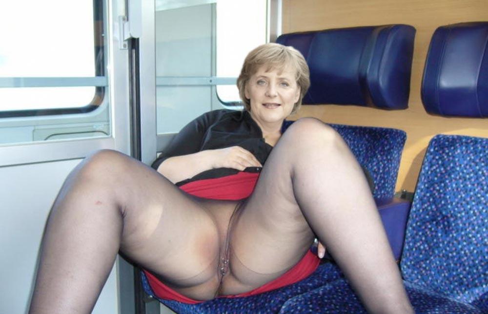 Ангела Меркель голая. Фото - 59