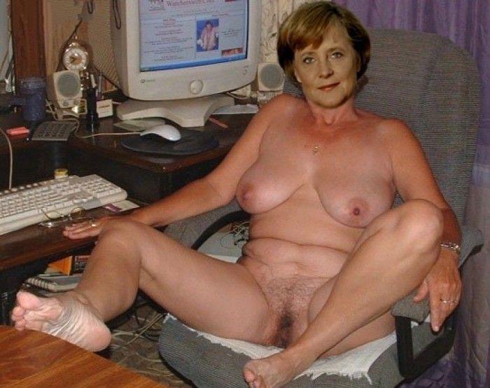 Ангела Меркель голая. Фото - 6