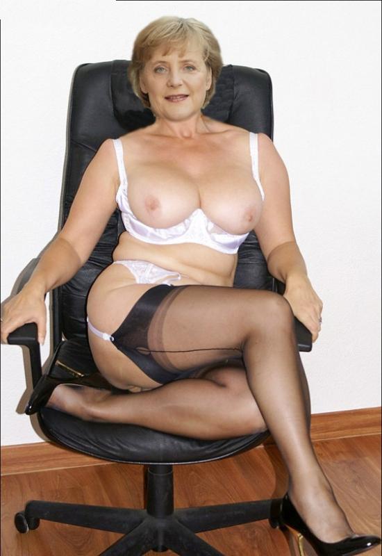 Ангела Меркель голая. Фото - 60
