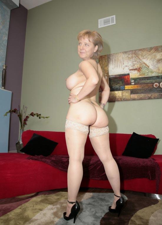 Ангела Меркель голая. Фото - 61